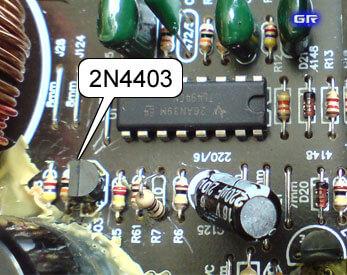 Пробитый транзистор 2N4403