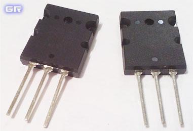 Комплементарная пара транзисторов 2SA1943/2SC5200