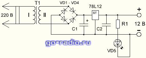 Адаптер yxk-0520 схема