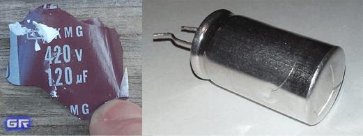 Неисправный конденсатор