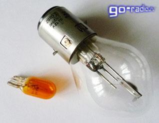 Лампа ближнего/дальнего света и лампа указателя поворота