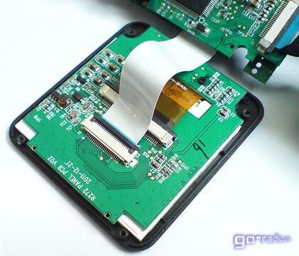 """2"""" LCD-дисплей видеорегистратора"""