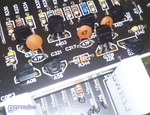 Маломощные транзисторы в предусилителе