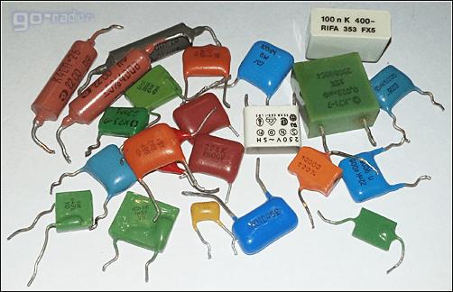 Неполярные конденсаторы