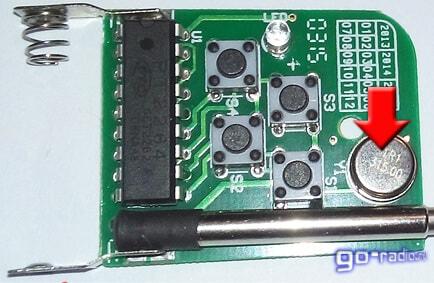 Фильтр на ПАВ (315 МГц)