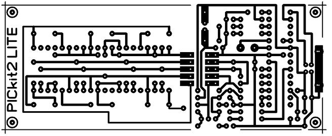 Рисунок печатных проводников