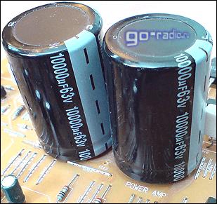 Электролитические конденсаторы в блоке питания