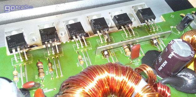 Пробитые MOSFET'ы
