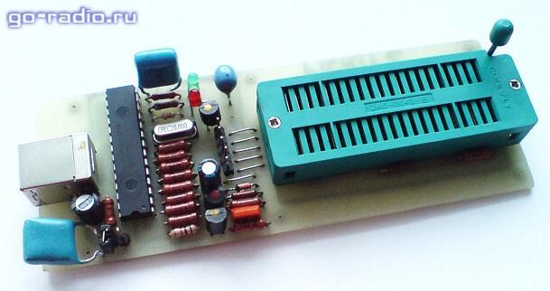Простой внутрисхемный программатор LPC