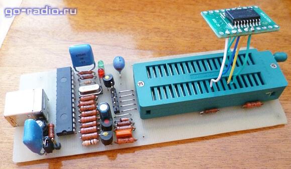 Программирование микроконтроллера в корпусе SOIC