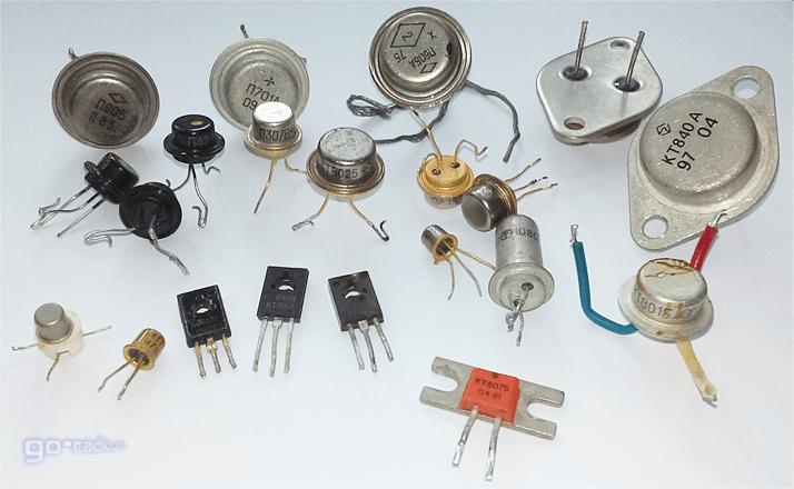 Советские биполярные транзисторы