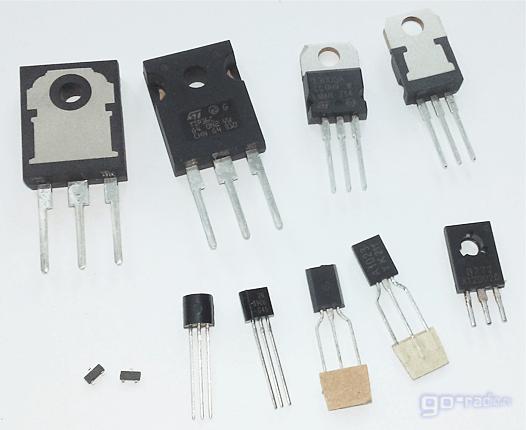 Современные импортные биполярные транзисторы