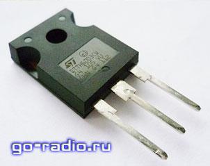 Сдвоенный быстродействующий диод STTH6003CW