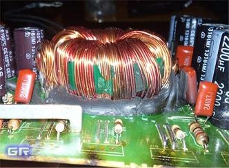 Тороидальный трансформатор в преобразователе автоусилителя