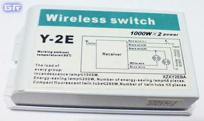 Радиоуправляемое реле (Wireless switch)