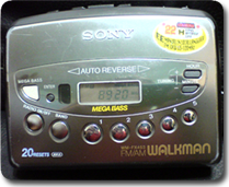 Walkman WM-FX453