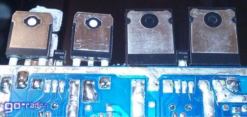 Заменяем транзисторы