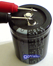 Электролитический конденсатор 220 мкФ * 400V