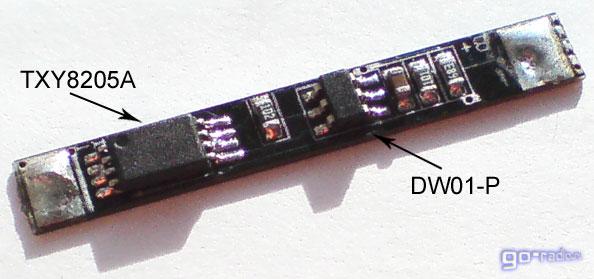 Плата защитного контроллера от аккумулятора сотового телефона