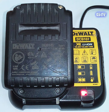 Зарядка литиевого аккумулятора от шуруповёрта