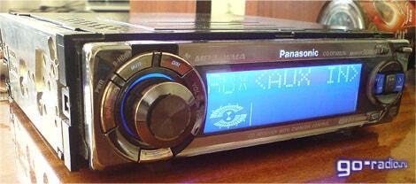 CD/MP3-ресивер Panasonic CQ-DFX883N