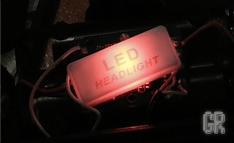 Тыльный индикатор налобного фонаря