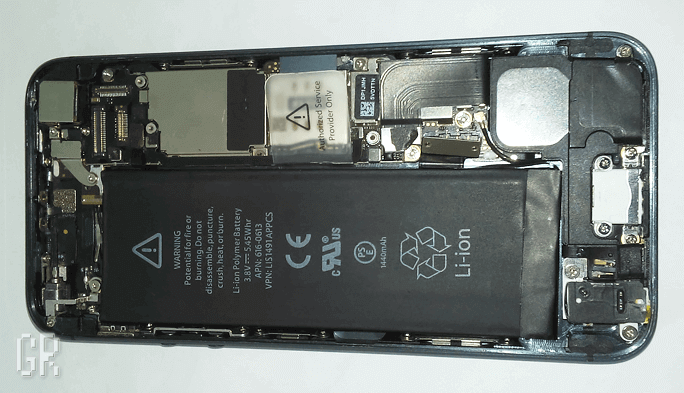 Электронная начинка смартфона iPhone 5
