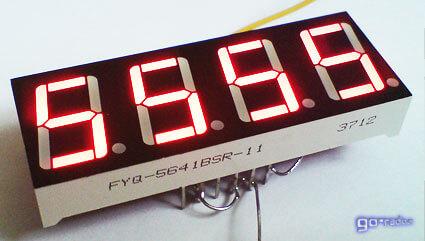 Четырёхразрядный индикатор