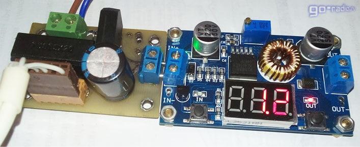 Выпрямитель с фильтром + DC-DC преобразователь