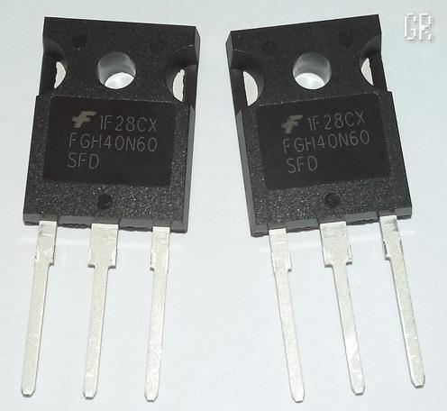 Современные IGBT транзисторы FGH40N60SFD