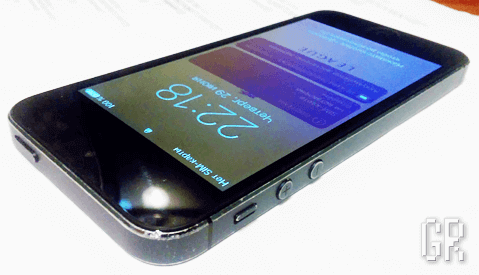Смартфон iPhone 5 после ремонта