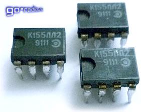 Микросхема транзисторно-транзисторной логики К155ЛЛ2