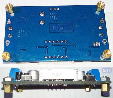 Внешний вид готового модуля DC-DC преобразователя