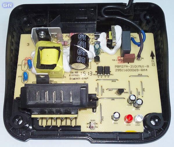 Печатная плата зарядного устройства от шуруповёрта