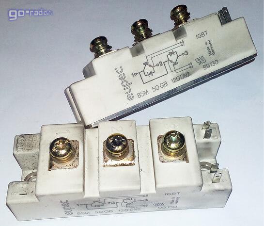 IGBT модуль BSM 50GB 120DN2