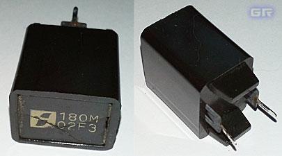 Двухвыводной позистор