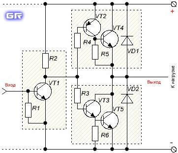 Транзистор дарлингтона своими руками