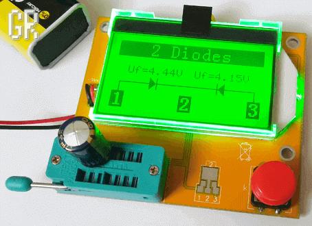 Проверка конденсатора KHC VENT тестером
