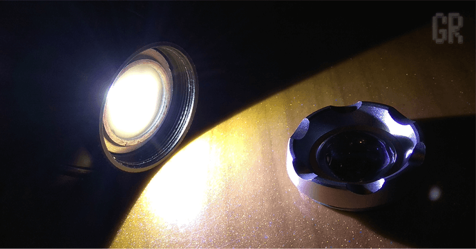 Ограничиваем прямой ток светодиода в фонаре