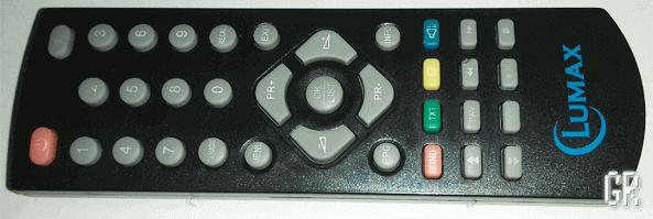 Пульт ДУ от DVB-T2 ресивера