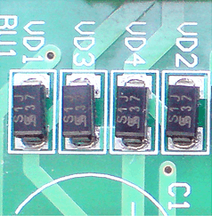 Диодный мост из отдельных диодов