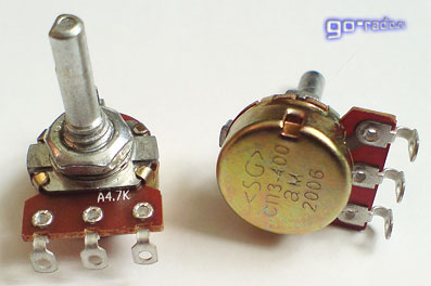 Переменный резистор СП3-400ам с функциональной характеристикой А