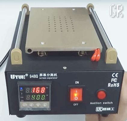 Сепаратор для расклейки тачскринов UYUE-948Q с вакуумным захватом