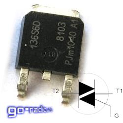 Симистор обозначение на схеме