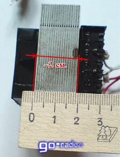 Замер толщины набора магнитопровода трансформатора