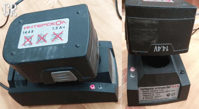 Проверка зарядного устройства после ремонта