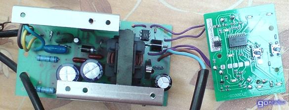 Электронная начинка зарядного устройства АСТРО ЗУ-3000